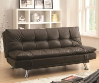 Coaster Dilleston Brown Sofa Bed Available Online in Dallas Fort Worth Texas