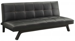 Coaster Oscar Black Leatherette... Available Online in Dallas Fort Worth Texas