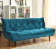Coaster Dilleston Teal Velvet S... Available Online in Dallas Fort Worth Texas
