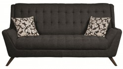 Coaster Natalia Black Sofa Available Online in Dallas Fort Worth Texas
