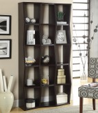 Coaster Bookcases Cappuccino Bookshelf Available Online in Dallas Fort Worth Texas