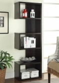 Coaster Landon Cappuccino Semi-Backless Bookshelf Available Online in Dallas Fort Worth Texas