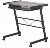 Coaster Peel Black Mobile Computer Desk w/ Keyboard Tray Available Online in Dallas Fort Worth Texas