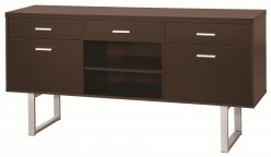 Coaster Glavan Cappuccino Credenza Available Online in Dallas Fort Worth Texas