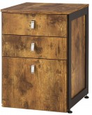 Coaster Estrella Antique Nutmeg File Cabinet Available Online in Dallas Fort Worth Texas