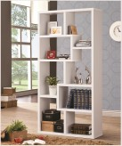 Coaster Almound White Bookshelf Available Online in Dallas Fort Worth Texas