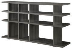 Coaster Brandy Weathered Grey Bookcase Available Online in Dallas Fort Worth Texas