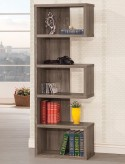 Coaster Lefty Weathered Grey Bookcase Available Online in Dallas Fort Worth Texas