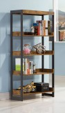 Coaster Estrella Antique Nutmeg Bookcase Available Online in Dallas Fort Worth Texas