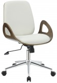 Coaster Office Chairs White Color Leatherette Office Chair Available Online in Dallas Fort Worth Texas