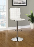 Dining Chairs and Bar Stools White Adjustable Waffle Bar Stool Available Online in Dallas Fort Worth Texas