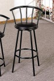 Coaster Buckner Black Bar Stool Available Online in Dallas Fort Worth Texas