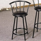 Coaster Buckner Black Barstool Available Online in Dallas Fort Worth Texas