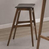 Coaster Gabriel Walnut Bar Stool Available Online in Dallas Fort Worth Texas