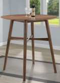 Coaster Gabriel Natural Walnut Round Bar Table Available Online in Dallas Fort Worth Texas