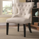 Coaster Samba Cream Tufted Back... Available Online in Dallas Fort Worth Texas