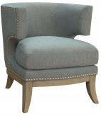 Coaster Basamag Blue Accent Chair Available Online in Dallas Fort Worth Texas