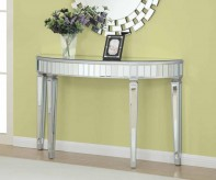 Coaster Beverely Silver Console... Available Online in Dallas Fort Worth Texas
