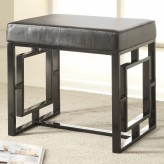 Coaster Fairhaven Petite Black Bench Available Online in Dallas Fort Worth Texas