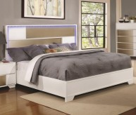 Coaster Havering Queen Platform Bed Available Online in Dallas Fort Worth Texas