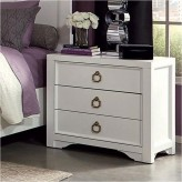 Furiani White Nightstand Available Online in Dallas Fort Worth Texas