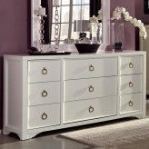 Furiani White Dresser Available Online in Dallas Fort Worth Texas