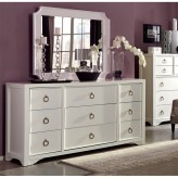 Furiani White Mirror Available Online in Dallas Fort Worth Texas