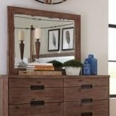 Madeleine Smoky Acacia  Mirror Available Online in Dallas Fort Worth Texas