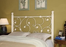 Gulf White Queen & Full Headboard Available Online in Dallas Fort Worth Texas