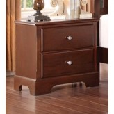 Homelegance Morelle Cherry Night Stand Available Online in Dallas Fort Worth Texas