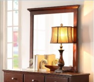 Homelegance Morelle Cherry Mirror Available Online in Dallas Fort Worth Texas
