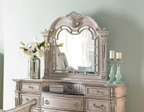 Homelegance Palace White Mirror Available Online in Dallas Fort Worth Texas