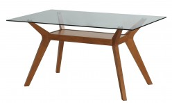 Coaster Paxton Nutmeg Dining Table Available Online in Dallas Fort Worth Texas