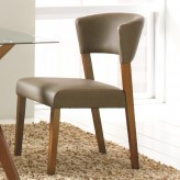Coaster Nutmeg Grey Upholstered Side Chair Available Online in Dallas Fort Worth Texas