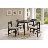 Coaster Sofie 5pc Brown Dining Set Available Online in Dallas Fort Worth Texas