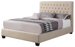 Chloe Cream Queen Platform Bed Available Online in Dallas Fort Worth Texas