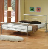 Coaster Stoney Creek Silver Twin Bed Available Online in Dallas Fort Worth Texas