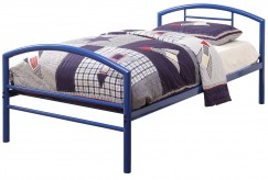 Coaster Baines Blue Twin Panel Bed Available Online in Dallas Fort Worth Texas