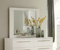 Homelegance Linnea White Mirror Available Online in Dallas Fort Worth Texas