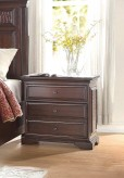 Homelegance Cranfills Cherry Night Stand Available Online in Dallas Fort Worth Texas