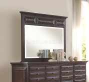 Homelegance Cranfills Cherry Mirror Available Online in Dallas Fort Worth Texas