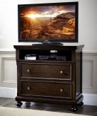 Homelegance Faust Dark Cherry Media Chest Available Online in Dallas Fort Worth Texas