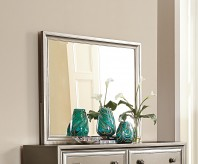 Homelegance Hedy Silver Mirror Available Online in Dallas Fort Worth Texas