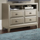 Homelegance Hedy Silver Media Chest Available Online in Dallas Fort Worth Texas