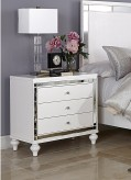 Alonza Bright White Night Stand Available Online in Dallas Fort Worth Texas