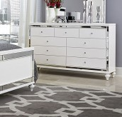 Alonza Bright White Dresser Available Online in Dallas Fort Worth Texas