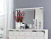 Alonza Bright White Mirror Available Online in Dallas Fort Worth Texas
