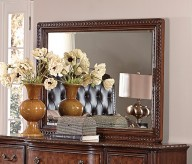 Homelegance Brompton Lane Dark Brown Landscape Mirror Available Online in Dallas Fort Worth Texas