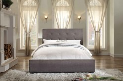 Cadmus Dark Grey Queen Bed Available Online in Dallas Fort Worth Texas