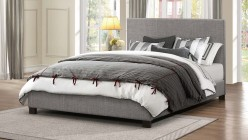 Chasin Grey Queen Platform Bed Available Online in Dallas Fort Worth Texas